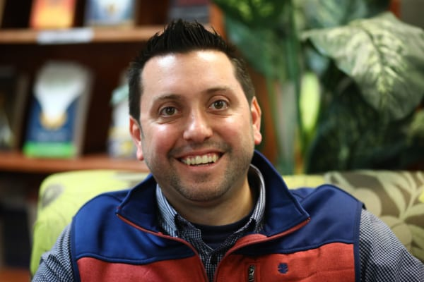 A portrait picture of Jason Schiellack in the resource center