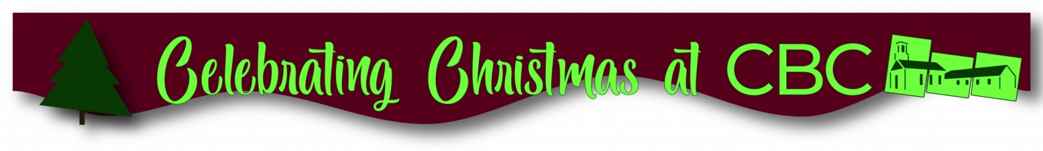 Banner for Christmas ministries