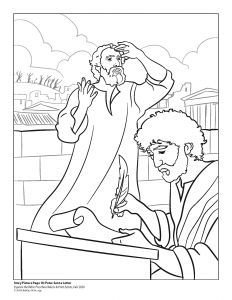 Coloring page for Lesson #10 of Jr. Church